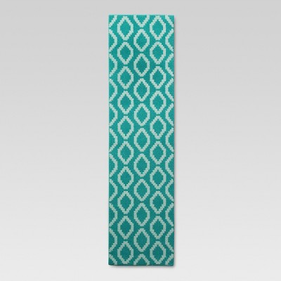 1'10 X7' Accent Runner Turquoise - Threshold™