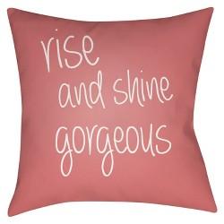 Rise and Shine Throw Pillow - Surya