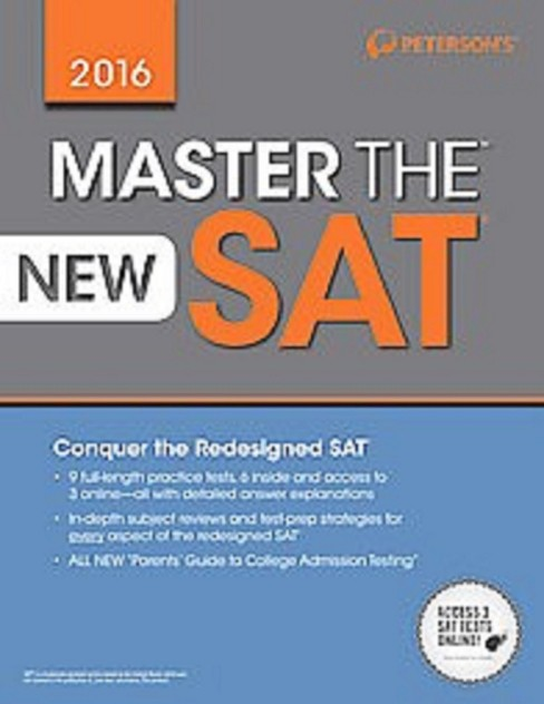 Master the New SAT 2016 (Paperback) - image 1 of 1