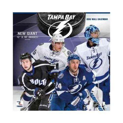 Tampa Bay Lightning 2016 Calendar (Paperback)