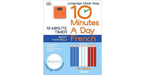 10 Minutes a Day : French (Paperback) - image 1 of 1