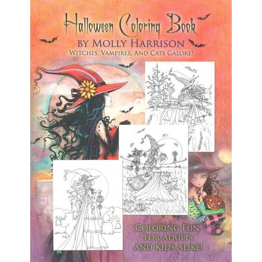 Halloween Coloring Book Paperback