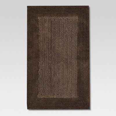 Ultra Soft Bath Rug Stone Gray (20 x34 )- Threshold