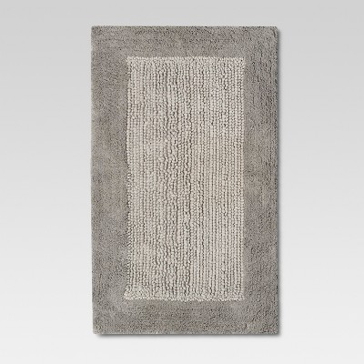 Ultra Soft Bath Rug - Sea Gull Gray - Threshold™
