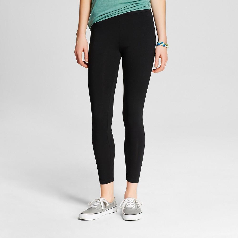Women's Capri Leggings Black M- Mossimo Supply Co. (Juniors'), Size: Medium