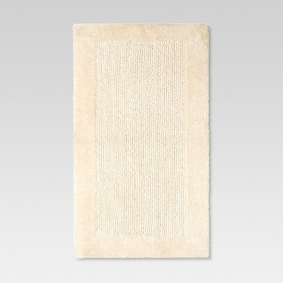 Ultra Soft Bath Rug - Natural Cream - Threshold™