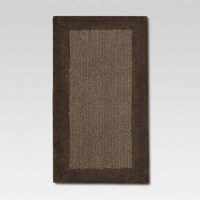 Ultra Soft Bath Rug Stone Brown (23 x38 )- Threshold™