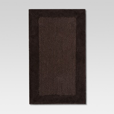 Ultra Soft Bath Rug Hot Coffee (23 x38 )- Threshold™
