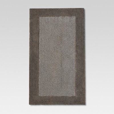 Ultra Soft Bath Rug - Seagull Gray - Threshold™