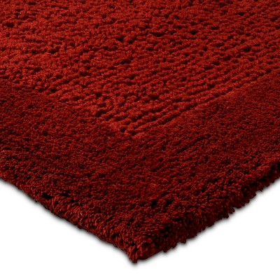red : threshold bath rugs : target