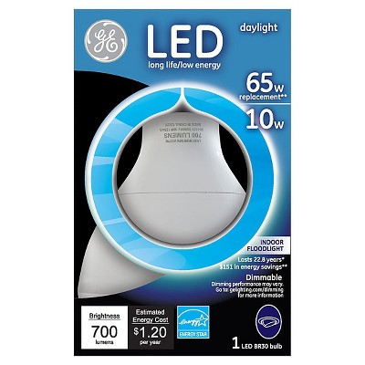 GE LED 65Watt R30 Light Bulb - Daylight