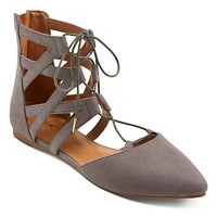 Women's Nara Lace Up Ballet Flats  - Mossimo Supply Co.. opens in a new tab.