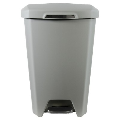 Hefty® Kitchen And Indoor Trash Cans Stone