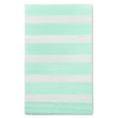 Stripe Accent Rug Light Mint 48 x66  - Pillowfort™