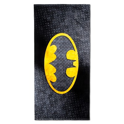 License Batman Beach Towel
