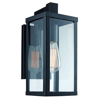 light two fremont bellacor high inch black wall outdoor lighting htm on sale sconce