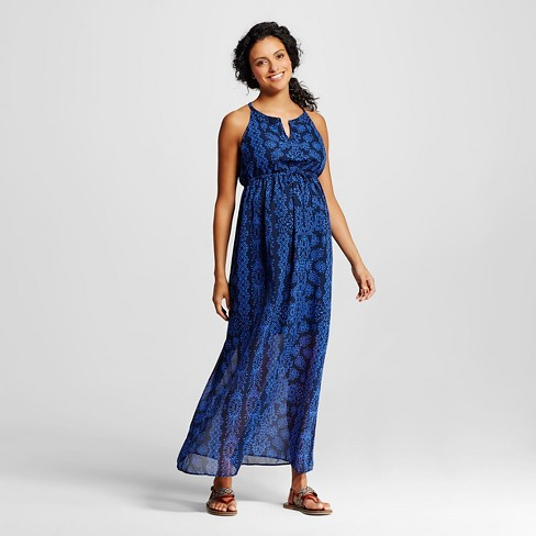 Maternity Printed Maxi Dress - Liz Lange® for Target - image 1 of 2