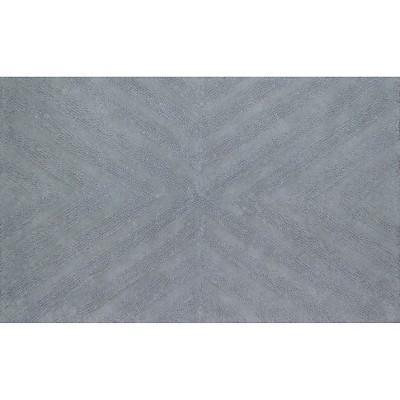 Textured Stripe Bath Rug (20 X34 )Silver Springs - Nate Berkus™