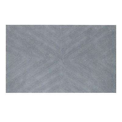 Textured Stripe Bath Rug (23 X38 )Silver Springs - Nate Berkus™