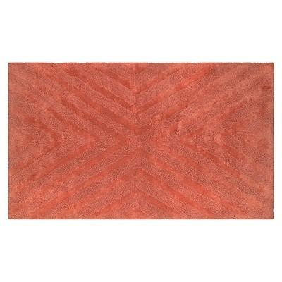 Bath Rug Wave Light Red (23x)- Nate Berkus™