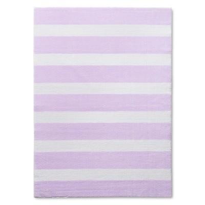 Stripe Accent Rug Purple 48 x66  - Pillowfort™
