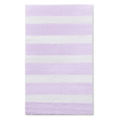 Stripe Accent Rug Purple 30 x48  - Pillowfort™