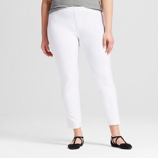 $18.00 - Plus-Size Jeggings - Xhilaration™ White 3X : Target