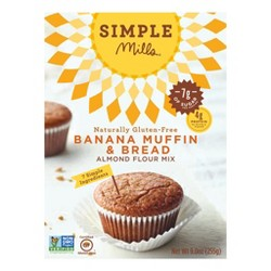 Simple Mills® Banana Muffin Almond Flour Mix - 9oz