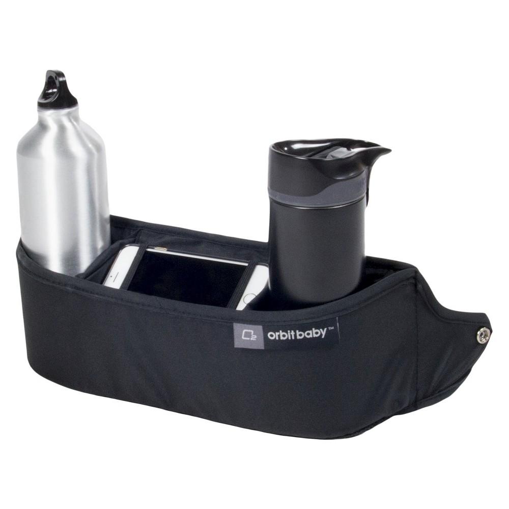 Orbit Baby O2 Cup Holder + Organizer Stroller Accessory, Black