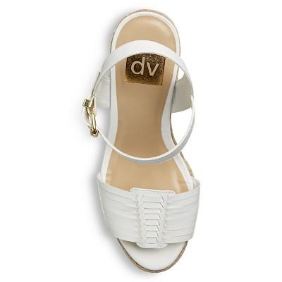 Women's dv Kim Huarache Sandals - White 6.5