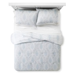 Printed Damask Comforter and Sham Set - Simply Shabby Chic™