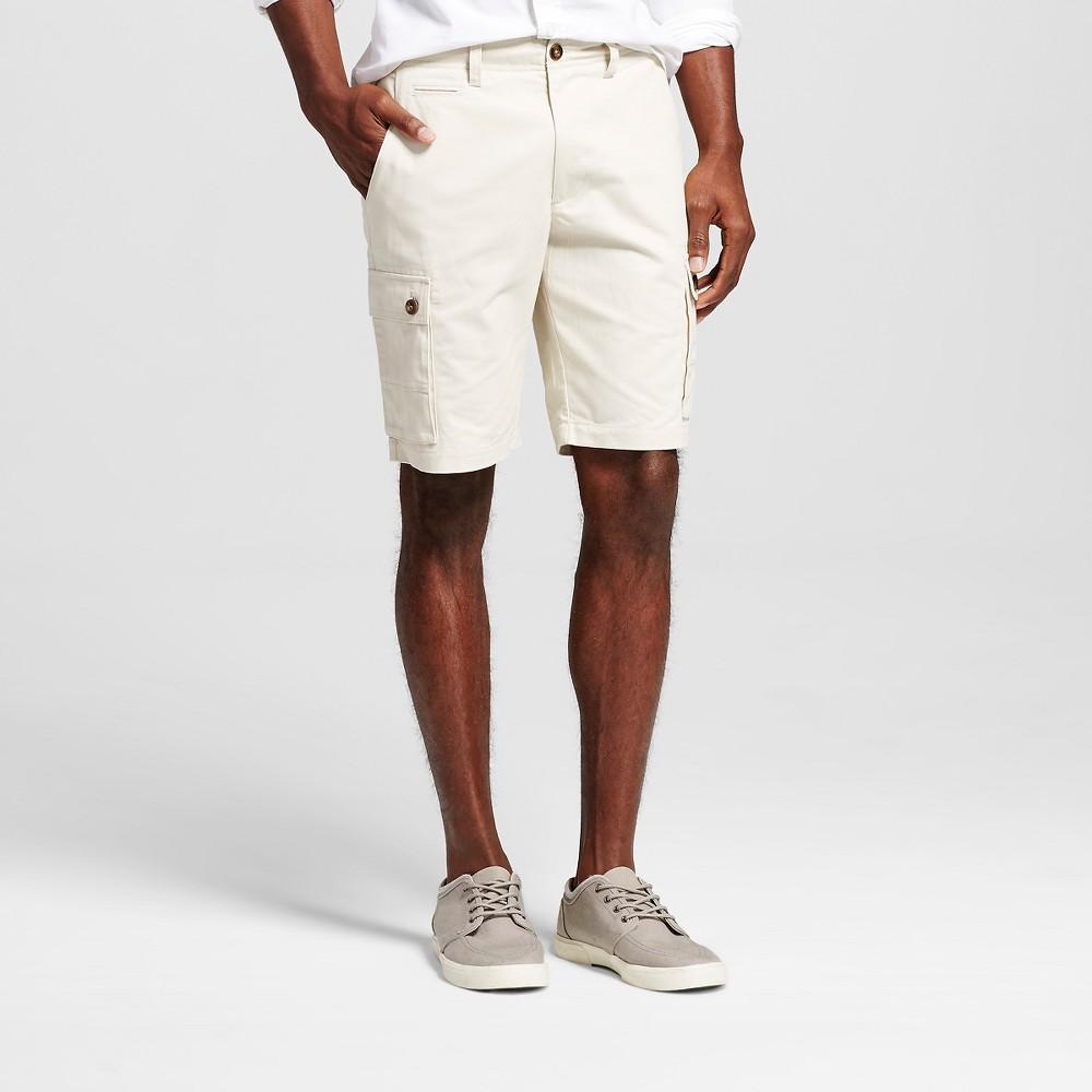 Mens Cargo Shorts - Merona Tan 32