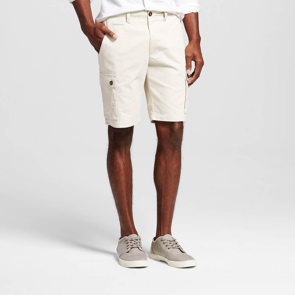Mens Cargo Shorts - Merona Tan 40