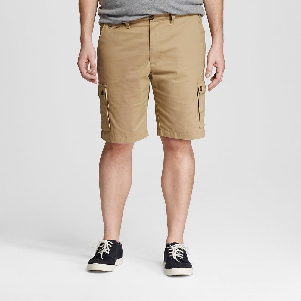 Mens Cargo Shorts - Merona Khaki (Green) 34