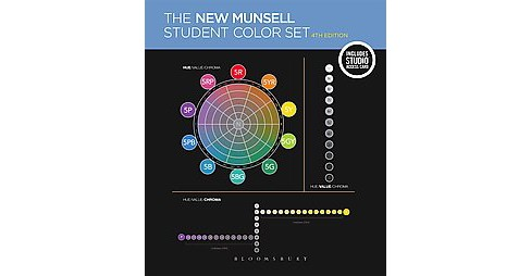 New Munsell Student Color Set : Includes 12 Packs of Munsell Chips (Student, Student) (Hardcover) (James - image 1 of 1