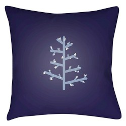 Charlie Tree Throw Pillow - Surya