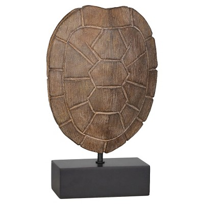 Tortoise Shell Decorative Sculpture Brown - Small