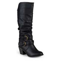 Women's Journee Collection Fashion Boots - Black 11