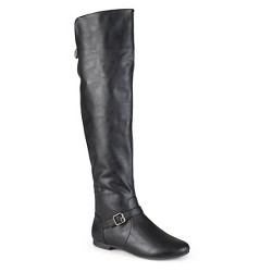 Women's Journee Collection Tall Riding Boots - Black 8