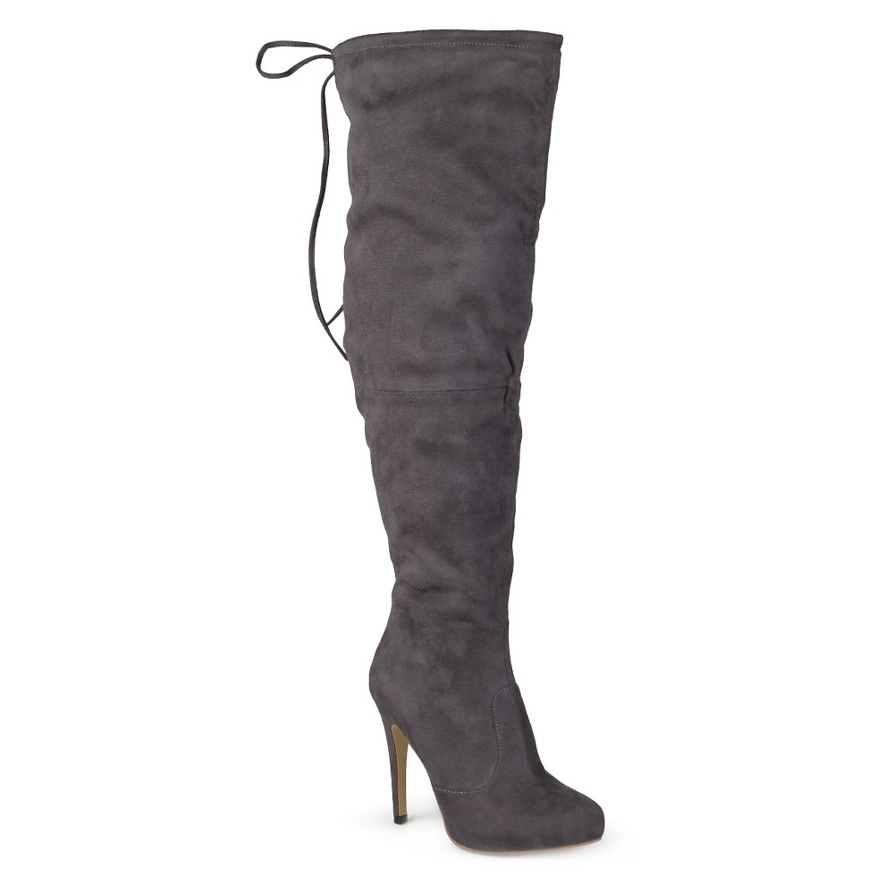 Womens Journee Collection Fashion Boots - Gray 11