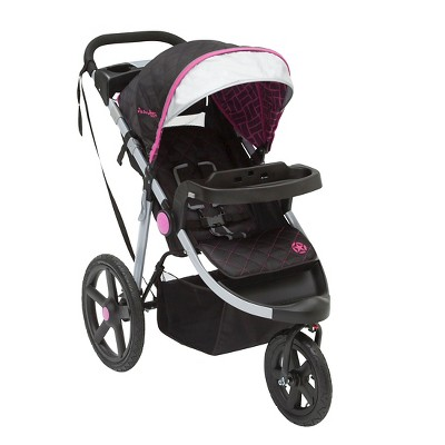 J is for Jeep Brand Adventure All-Terrain Jogging Stroller - Berry Tracks
