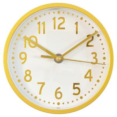 Wall Clock Brass 6  - Threshold™