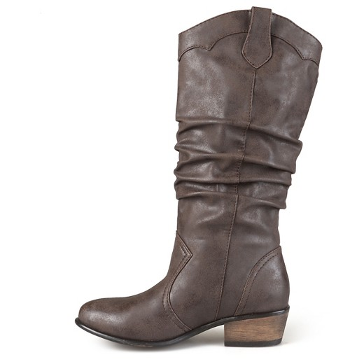 s journee collection wide calf toe slouch