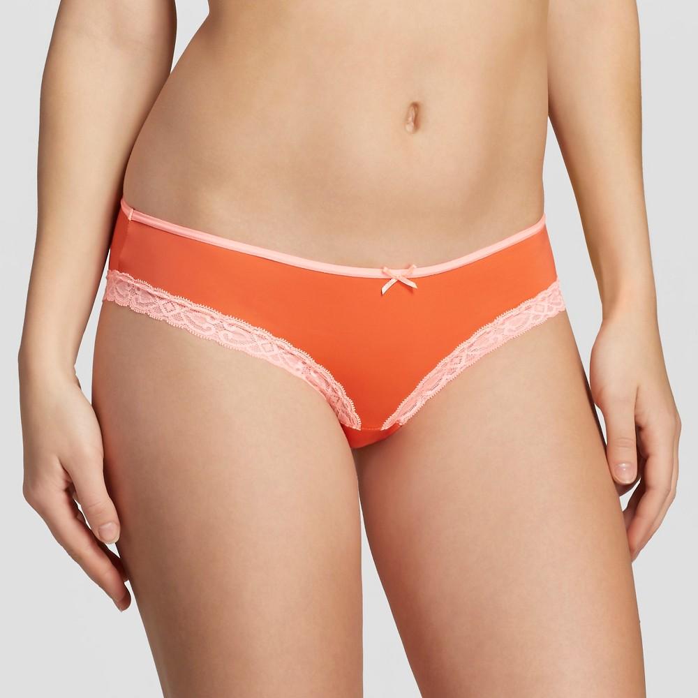 Womens Bikini Briefs - Xhilaration Exciting Orange M