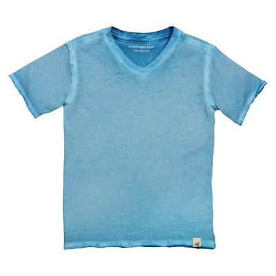 Toddler Boys' Sun Bleached Logo Tee - Sea Blue 2T - Burt's Bees Baby™