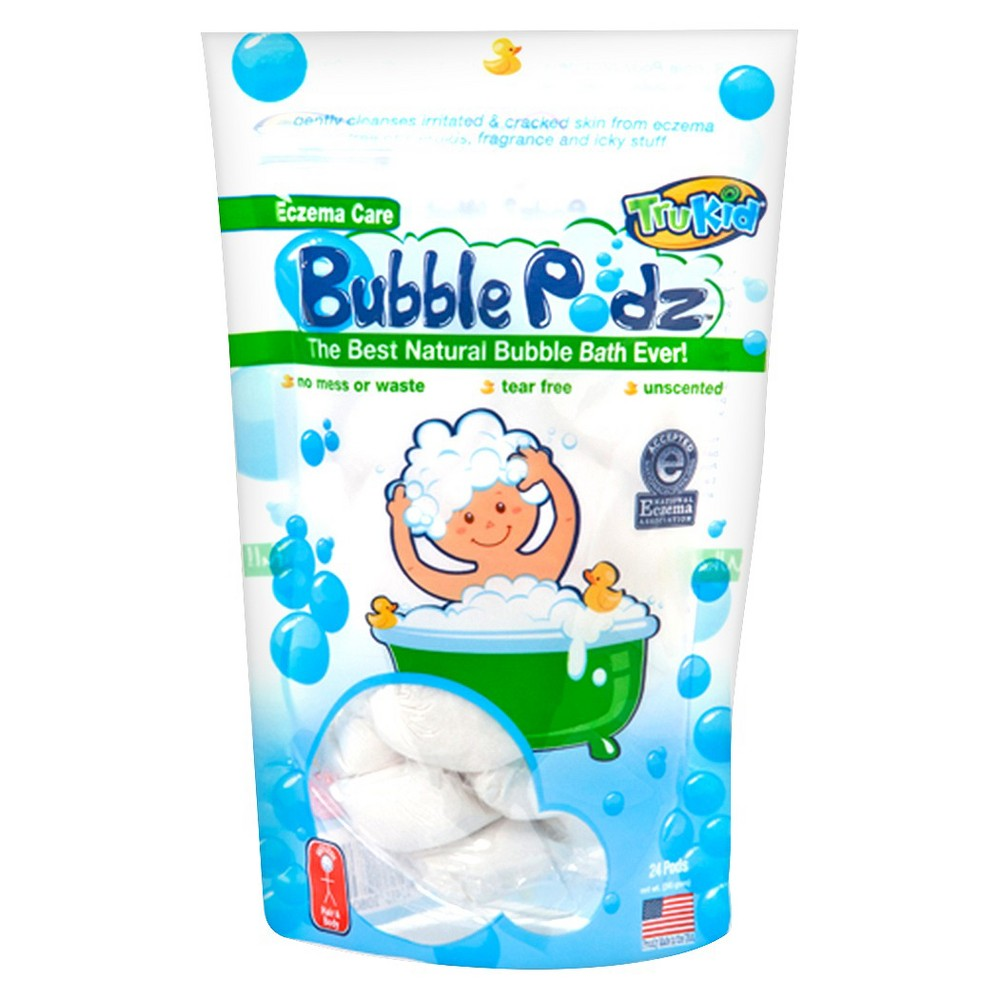 TruKid Eczema Care Bubble Podz - 24 Count