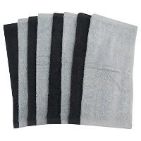 Washcloth Set Gray Room Essentials