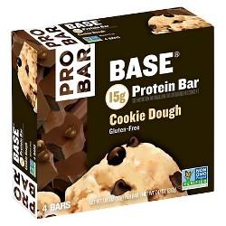 Probar Base Gluten-Free Protein Bar - Cookie Dough - 4ct
