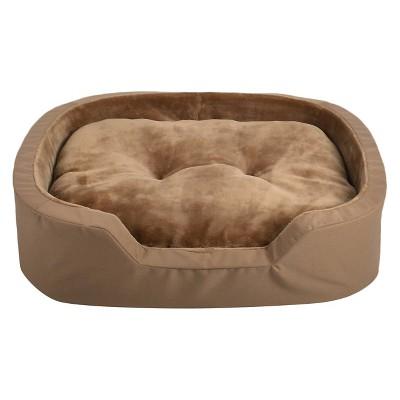 la ti paw™ ortho foam pet bed - copper brown : target