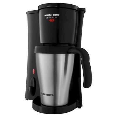 BLACK+DECKER™ Brew 'n Go Personal Coffee Maker and 15-oz Travel Mug